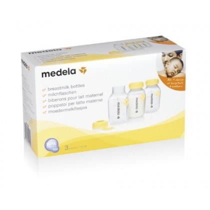 Medela Breastmilk Storage Bottles 150ml  - 3pcs/box