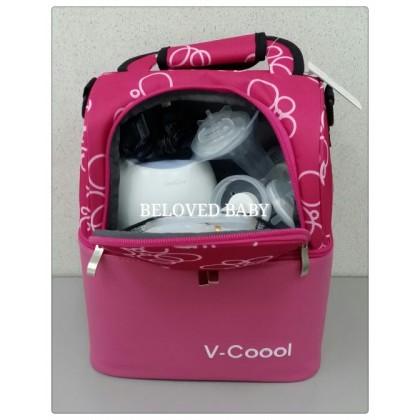 V-Coool Lovely House 2 Compartment Cooler Bag - Blue