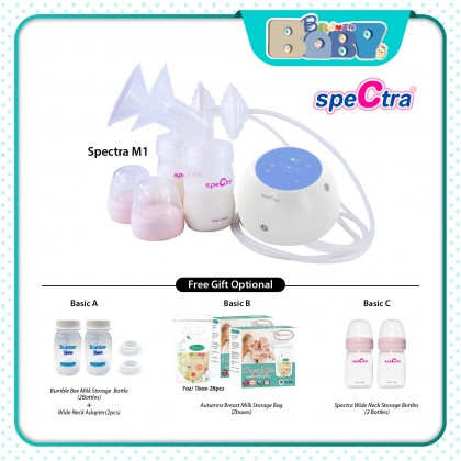 Spectra M1 Double Breast Pump  (+Free Gift)