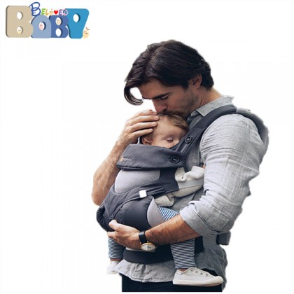 Ergobaby Four Position 360 Baby Carrier Cool Air - Carbon Grey