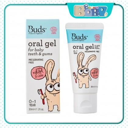 Buds Oralcare Organics Oral Gel- 0-1 Year For Baby Teeth & Gums