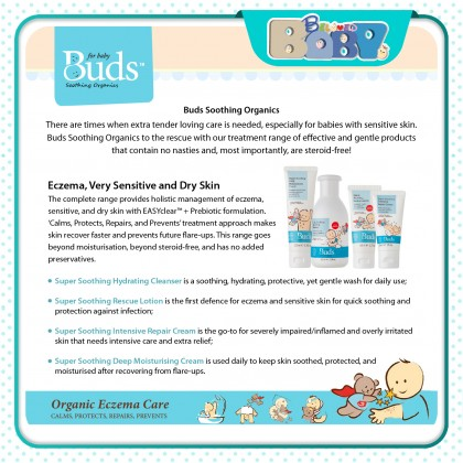 Buds Soothing Organics Save Our Skin Lotion (50ML)