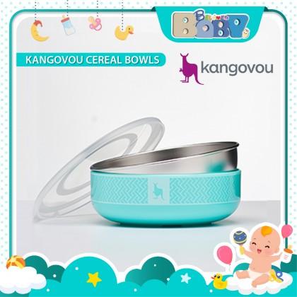 Kangovou Cereal Bowls - 10oz Iced Mint