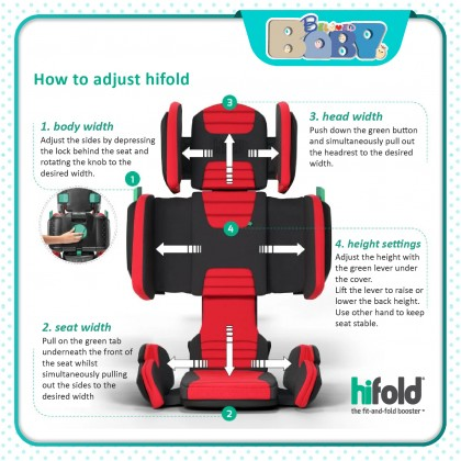 Hifold - the fit-and-fold booster seat
