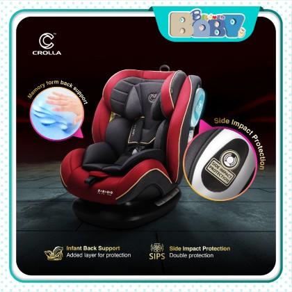 Crolla Nexus Convertible Car Seat (Black / Red)