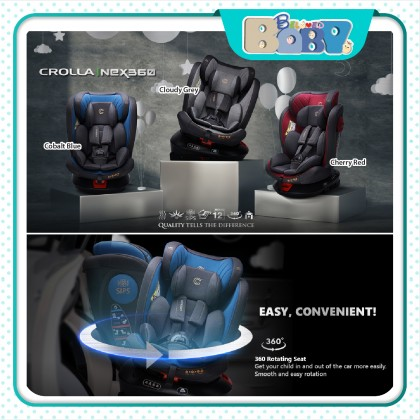 Crolla™ NEX 360 Convertible Car Seat