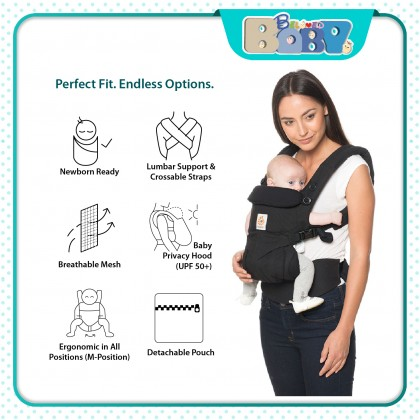 Ergobaby Omni 360 Baby Carrier All-In-One (Cotton)