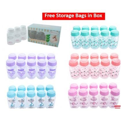 Autumnz - Standard Neck Breastmilk Storage Bottles *5oz* (10 btls)