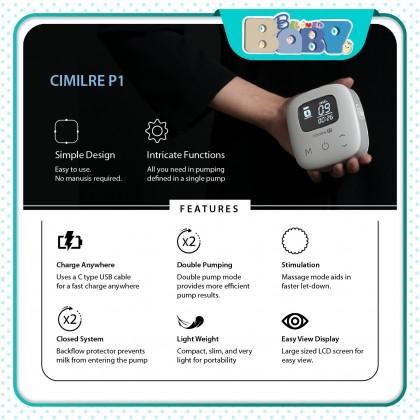 Cimilre P1 Rechargeable Double Breastpump