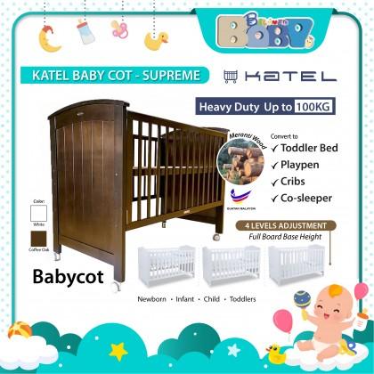 KATEL Baby Cot - Supreme