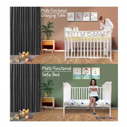 KATEL Baby Cot - Luxury
