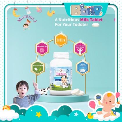 MommyJ High Calcium Probiotics Milk Bites (50 Tablets)