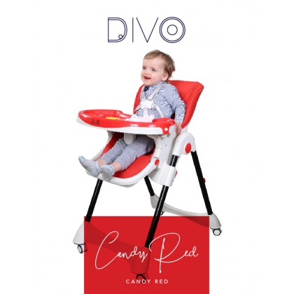 Coby DIVO Multifunctional Dining Chair High Foldable Compact Dining Chair (6-72months)