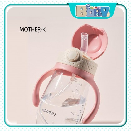 Mother-K Hug Weighted Straw Cup- 210ml/300ml