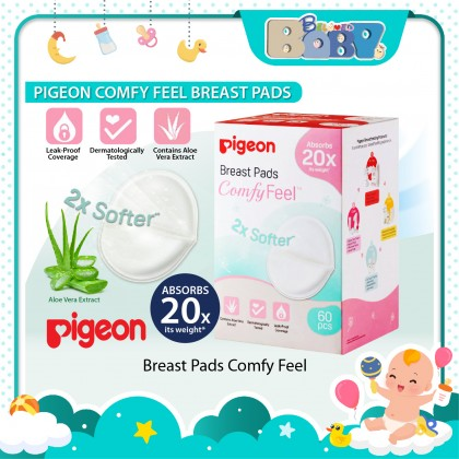 Pigeon Comfy Feel Breast Pads - 60s