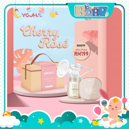 Youha Cherry Rose Single Rechargeable Breast Pump