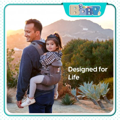 (New))Ergobaby Omni Breeze Baby Carrier-0 to 48 months (Breathable Mesh Fabric )