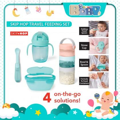 Skip Hop Easy-Pack Travel Feeding Set - 6+ Months