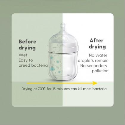 Boboduck UV Sterilizer Baby Bottle Steriliser Dryer & Storage-10L