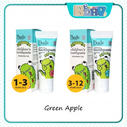 Buds Oralcare Organics Children's Toothpaste with Fluoride-3-12 years