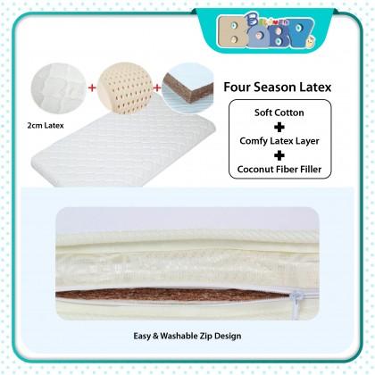 Baby Cot Mattress (Latex + Coconut Fiber )